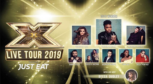 Image for THE X FACTOR LIVE TOUR 2019