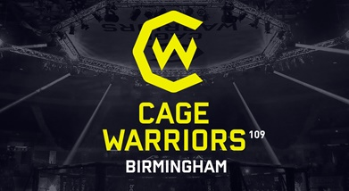 Image for CAGE WARRIORS 109